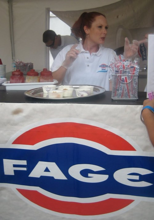 free greek yogurt samples from Fage