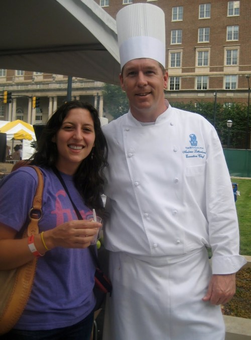 I met the chef