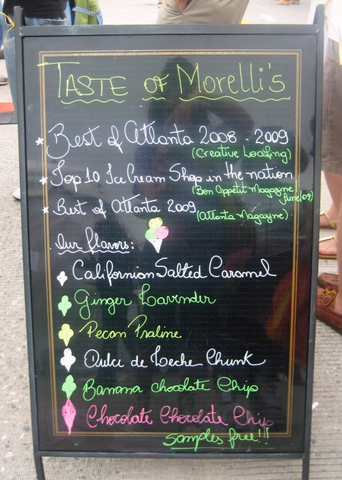 Morelli's Ice Cream in East Atlanta